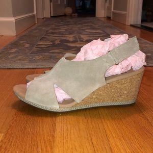 "Clark's Soft Cushion 3"" Cork Sandal"